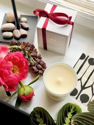 アロマキャンドル/スズラン Flowerstalk of London【正規品】英国製 シグネチャーラグジュアリーキャンドル
