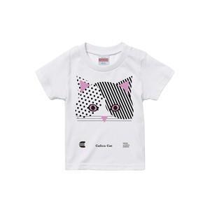 Tシャツ【動物シリーズ】Calico Cat[猫]