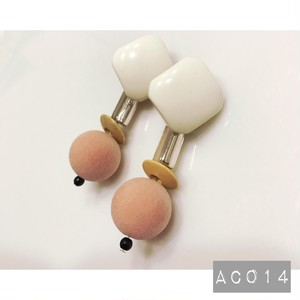 AC014 【再販2】 ビンテージビーズイヤリング