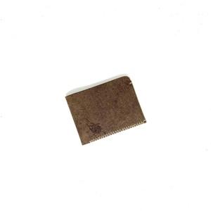 minimal half wallet | 二つ折りミニマルハーフウォレット