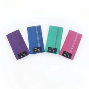 半幅帯、西陣織、本麻、両面使用、4色展開