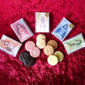 女神の占いカード付きクッキー〈5種類から選べる〉プチギフト・引き菓子に!