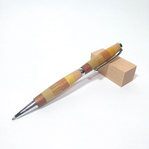 寄せ木ボールペン 6種木材