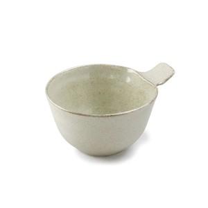 「ナチュラルカラー Natural Color」取っ手付きカップ ボウル 皿 高さ7.3cm ベージュ 美濃焼 517055