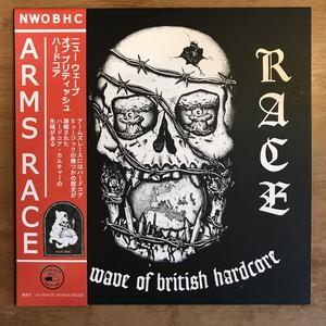 【日本限定帯付LP】ARMS RACE「NWOBHC」LP