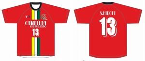 2018年U15公式戦用ユニフォームシャツ(赤) U15会員対象
