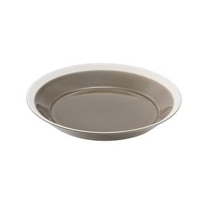yumiko iihoshi porcelain(ユミコイイホシポーセリン)×木村硝子店 dishes 180 plate (fawn brown)  プレート 皿 18cm 日本製 255114