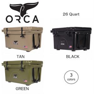ORCA オルカ クーラーボックス 26 Quart キャンプ、ピクニック、釣りなどアウトドアで大活躍