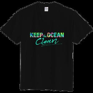 Keep the ocean clean Tシャツ