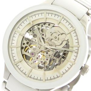 サルバトーレマーラ SALVATORE MARRA 腕時計 メンズ レディース SM17122-SSWH 自動巻き ホワイト シルバー スケルトン