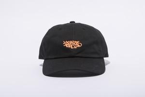 LEGALIZE TOKYO 6PANEL CAP (BLACK x NEON ORANGE)