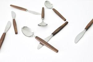 teak handle cutlery / チークのカトラリー