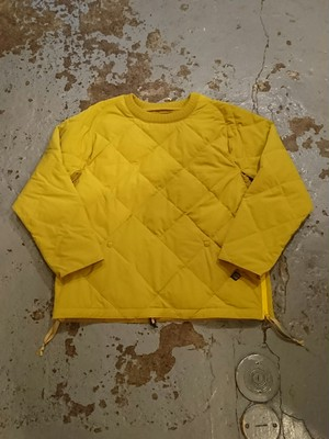 "COMFY OUTDOOR GARMENT ""PULLOVER STRETCH DOWN"" Mustard Color"