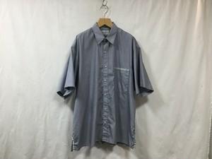 """""""在庫有り""""Marvine Pontiak shirt makers""""Two Tone Shirt  Navy"""""""