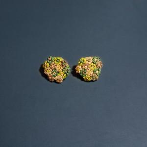 小さなブーケのピアス|フンワリ