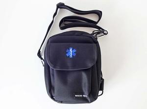 GUARD ガード NEW 救急救命士専用 EMSレッグバッグ ストラップ付 ブラック [SOLLEGBAG-2] アウトドア レスキュー ライフセービング スターオブライフ