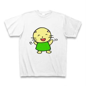シャイキャットガールのTシャツ