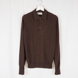 80's John Smedley Polo Knit