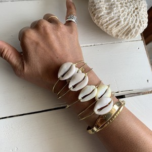 Cowrie bangle