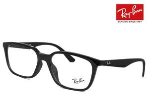 レイバン 眼鏡 メガネ Ray-Ban rx7176f 2000 54mm 黒ぶち フレーム めがね RX 7176 F rb7176f ウェリントン