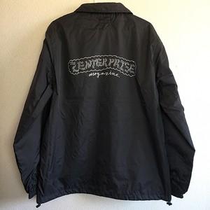 """zenterprise magazine coach jacket """"  DISKAH LOGO """""""