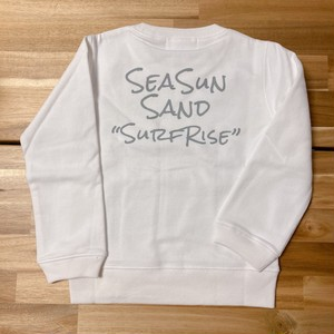 ★Kids★ SeaSunSand Sweat - White