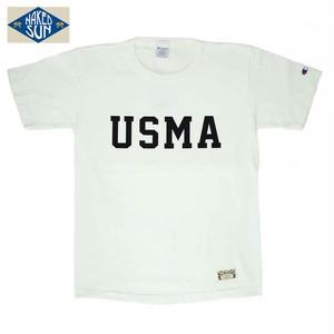 "NS102006 ""USMA"" T1011 PRINT Tee / WHITE"