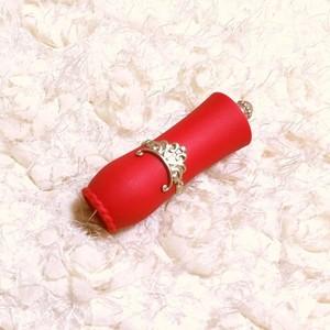 口紅容器(レッド)10本セット