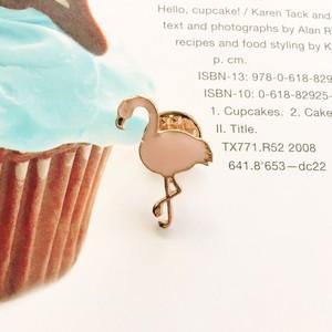 Pin Badge / Flamingo