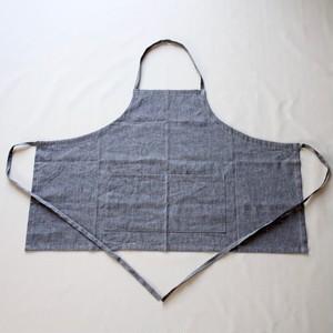 short apron [linen chambray] ※sample