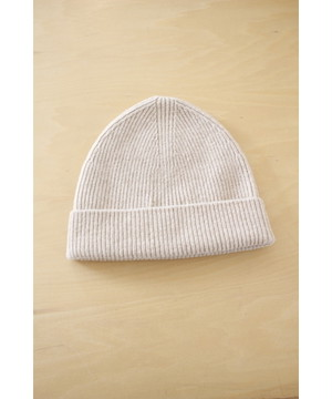 COLTESSE / BEANIE[LIGHT BEIGE]