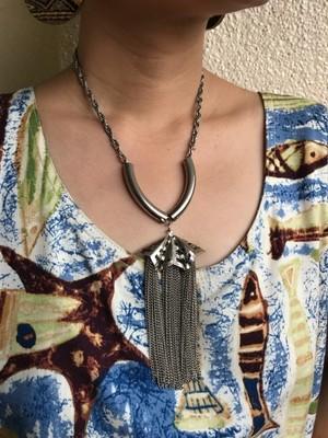 【Necklace】Vintage silver necklace