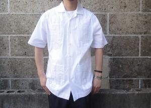 HAVANERA (ハバネラ) GUAYABERA SHIRTS ホワイト