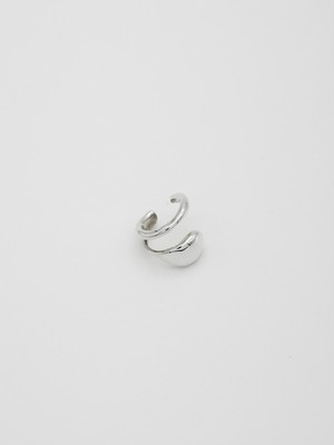 line point earcuff silver(再入荷)