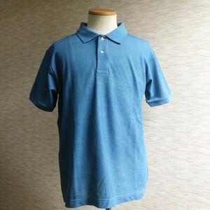 KAYA/藍染POLOシャツ (COOLNICE素材)