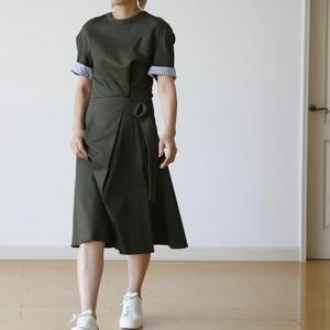 PLEASE    ミリタリーデザインワンピース:PLE-236 ¥24,800+tax