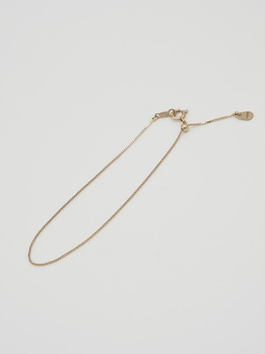 adjustable ball venetian bracelet gold K10(再入荷)