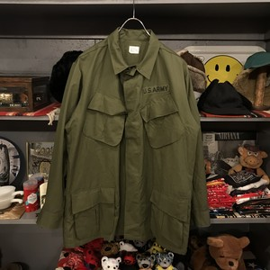60's U.S.Army Jungle Fatigue Jacket 4th Type Deadstock