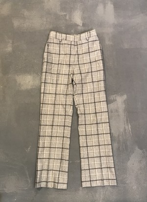 Brooks Brothers Wool Check Slacks / Made in Portugal [1886]