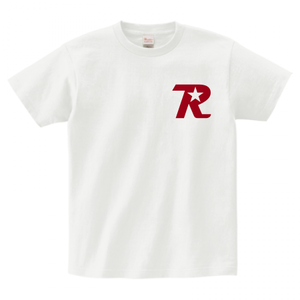 R-logo Breast / Tシャツ(Red/White)【送料無料】【Shop限定】