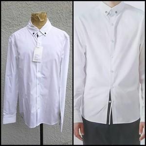 【2012SS】新品/シッソイドcissoid/デッドストック/BDシャツ/ボタンダウンシャツ/白/M/定価18900/