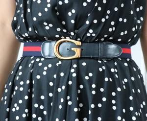 GUCCI  sherry line belt