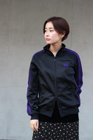 SALE対象商品【Needles】track jacket poly smooth-black