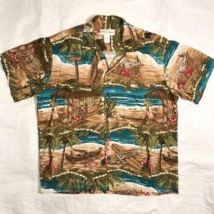 【Punahou Apparel】アロハシャツ Made in Hawaii