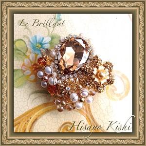 Costume jewelry Brooch / コスチュームジュエリー ブローチ