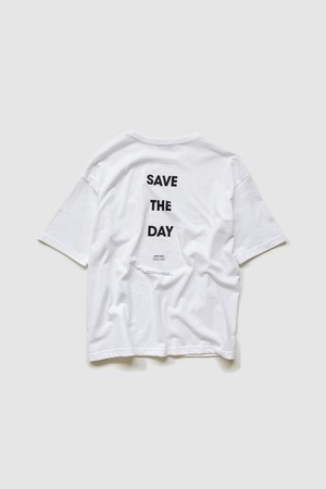 【POET MEETS DUBWISE(ポエトミーツダブワイズ)】 SAVE THE DAY OVERSIZED POCKET T-SHIRTS