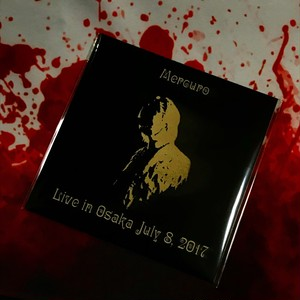 Mercuro (マーキュロ) / 2nd Live「Live in Osaka July 8, 2017」GOLD CDR