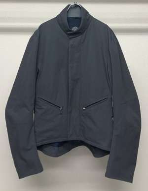 2000s MENICHETTI CROPPED NYLON JACKET