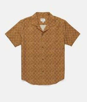 RHYTHM リズム シャツ BATIK SS SHIRT VINTAGE BROWN