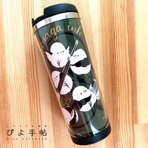 シマエナガの魔法瓶タンブラー(インクペン)